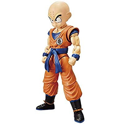 Dragon Ball Krillin (New Pkg Ver), Bandai Spirits Figure-Rise Standard, Multi: Toys & Games