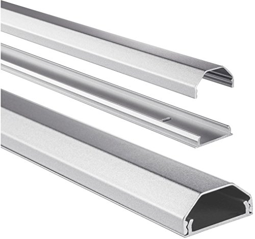 HAMA 00083168 Aluminium Duct Cable - Silver