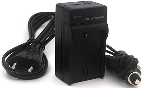 EN-EL3 Cargador para Nikon D100, D100 SLR, D200, D300, D300s, D50, D70, D70s, D80, D90, DSLR D700 cámara con Cable de alimentación de la UE y ...