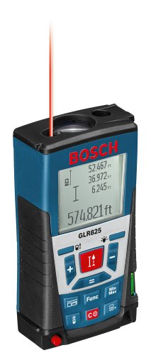 Bosch Laser Distance Measurer, 825 Feet GLR825