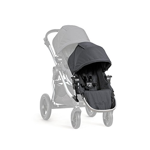 Baby Jogger 2016 City Select Double Stroller with 2nd Seat, Onyx by Baby Jogger (Image #1)