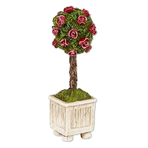 Studio M Merriment Mary Engelbreit Fairy Garden - Mini Rose Topiary