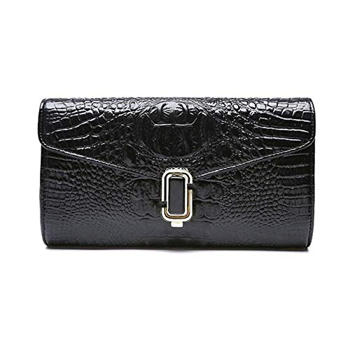 Bag colore Lady Bag 16cm Soft Grade 6 Night grow misura nero Alligator Messenger Clutch Clutch 27 High Honor Sky modello tB46y