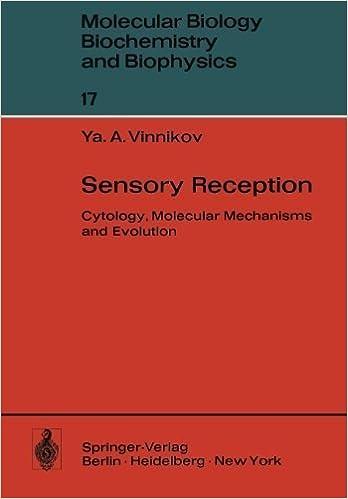 Sensory Reception: Cytology, Molecular Mechanisms and Evolution (Molecular Biology, Biochemistry and Biophysics Molekularbiologie, Biochemie und Biophysik) by Y.A. Vinnikov (1976-01-01)