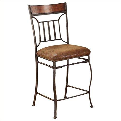 Cheap ACME 96058 Set of 2 Tavio Counter Chair, 24-Inch