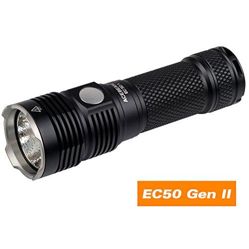 EC50 GEN Ⅱ CREE XHP70 6500K Micro-Usb Rechargeable Side S...
