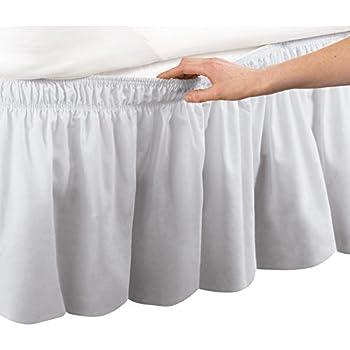 Amazon Com Detachable Bedskirt Dust Ruffle King Size 14