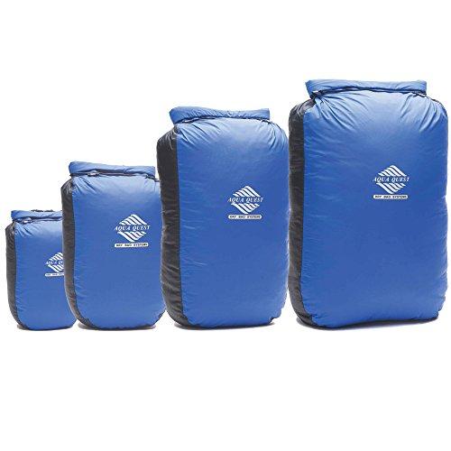 Aqua Quest GLACIER Dry Bag Set of 4 Waterproof Bags 5 L, 10 L, 20 L, 30 L for Water Sports Equipment and Accessories