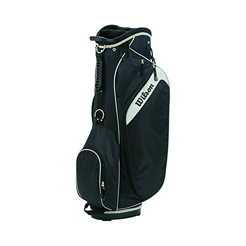 Wilson Golf Unisex Wilson Profile Bag Wilson Profile Golf Cart Bag, Black Womens Golf Cart Bag