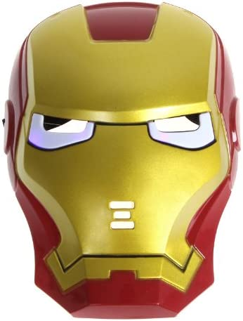 Marvel Iron Man 3 Deluxe Costume Playset Helmet Mask Kids Cosplay Party Gift Toy