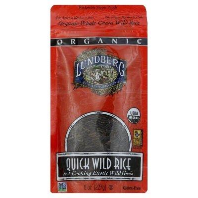 Lundberg Farms Organic Quick Wild Rice, 8 Ounce -- 6 per case. by Lundberg