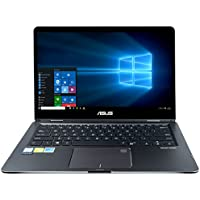 CUK ASUS ZenBook Flip UX461UN 2-in-1 Convertible Laptop (Intel i7-8550U, 16GB RAM, 1TB NVMe SSD, External DVD-ROM, NVIDIA GeForce MX150 2GB, 14 FHD IPS Touchscreen) Windows 10 Touch Notebook Computer