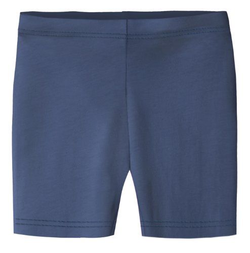 City Threads Big Girls Underwear Bike Shorts in All Cotton Perfect for SPD and Sensitive Skin Sports Dance School Uniform, Navy 16 - Big Bike