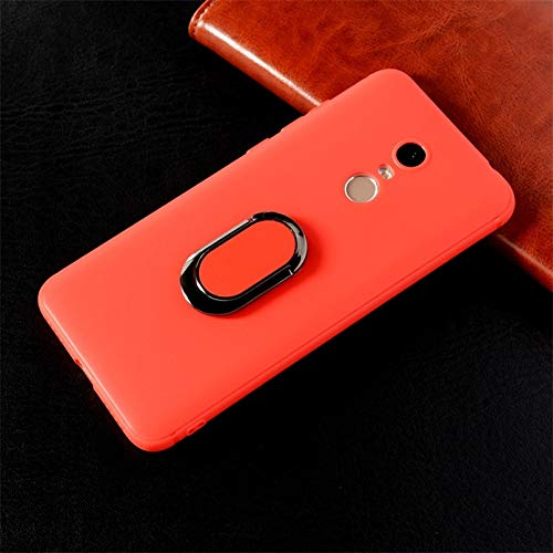 Amazon.com: Ring Holder Phone Case for Xiaomi Redmi 5 Plus ...