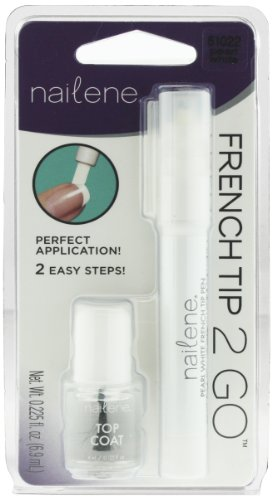 Nailene French Tip Pen, Pearl White 61022