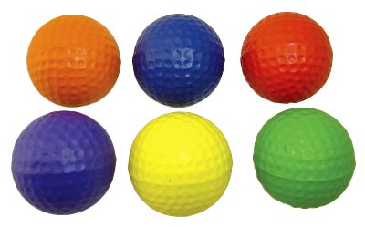 American Educational Products Ytm-005 Oversized Foam Golf Balls Set Of 6
