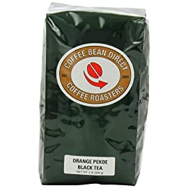 Coffee Bean Direct Orange Pekoe Loose Leaf Black Tea, 2 Pound Bag 89 High-quality loose leaf tea leaves Contains full tea leaves- much higher quality than most tea bags Tea leaves are packaged to ensure optimal freshness