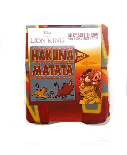 Disney The Lion King Hakuna Matata Silky Soft Throw for Kids-40