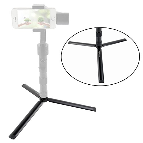 ASHANKS Extension Selfie Stick, BeStableCam Mini Monopod Stand Aluminum for Z1 Smooth C 2 Zhiyun Crane M Phone Gimbal Gopro Stabilizer, Black (GMTRIPOD)
