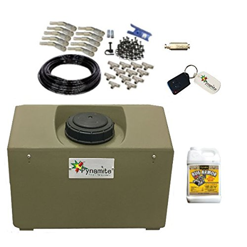 Mosquito Misting Pump : Pynamite gal mosquito misting system nozzle kit and