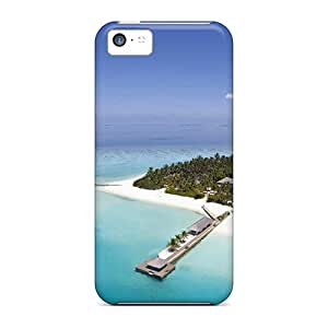 Premium [ogx19305gRqd]heart Island Island Travel Cases For Iphone 5c- Eco-friendly Packaging
