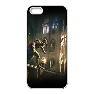 iPhone 5 5s Cell Phone Case White am17 assassins creed syndicate game art illust G8T1GN