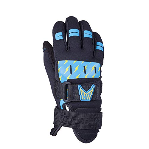 Ho Kid's World Cup Glove Black/Blue (S)