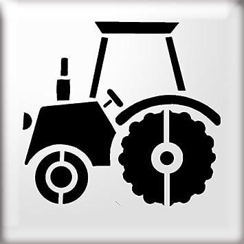 The Stencil Studio Ltd Traktor Schablone Wiederverwendbar 10231