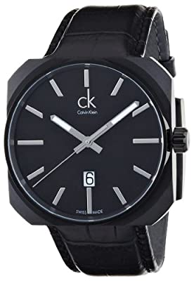 Calvin Klein Solid Men's Quartz Watch K1R21430