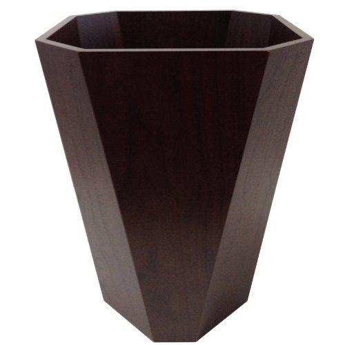 オクタゴナルダストボックス Octagonal Dustbox ゴミ箱 ダストボックス (ダークウォールナット) B00ECP3IX0ダークウォールナット