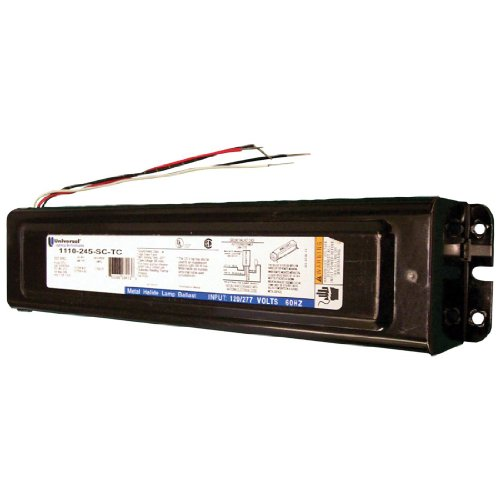 Universal 175W Metal Halide F-Can Ballast 120 or (175w Protected Metal)