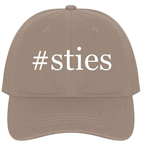 The Town Butler #Sties - A Nice Comfortable Adjustable Hashtag Dad Hat Cap, Khaki ()