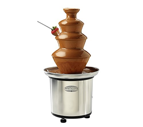 For Sale! Nostalgia Electrics 3-Tier Stainless Steel Chocolate Fondue Fountain