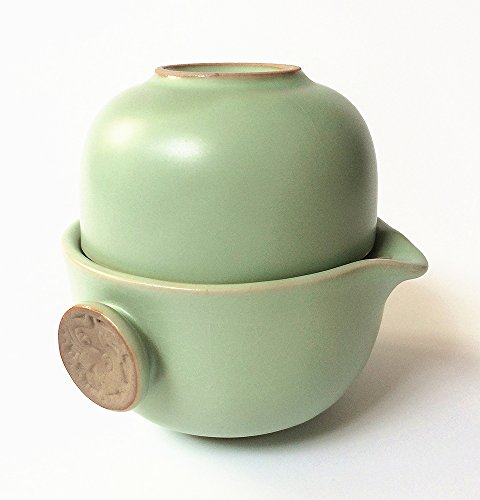 Eternal Loves L001 Chinese Kung Fu Tea Set Celadon Porcelain