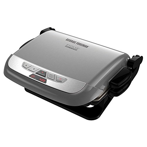 George Foreman GRP4842P 5 Serving Multiplate Evolve Grill Deal (Large Image)