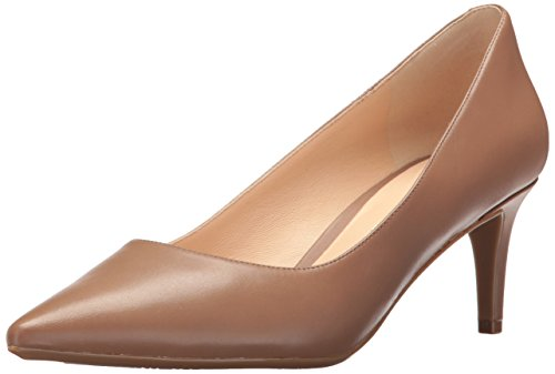 - Nine West Women's SOHO9X9 Leather, Natural, 8 M US