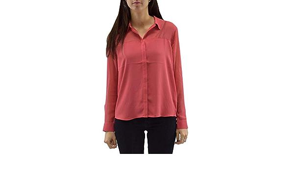 Pepe Jeans Camisa Marisa Granate Mujer L Granate: Amazon.es: Ropa