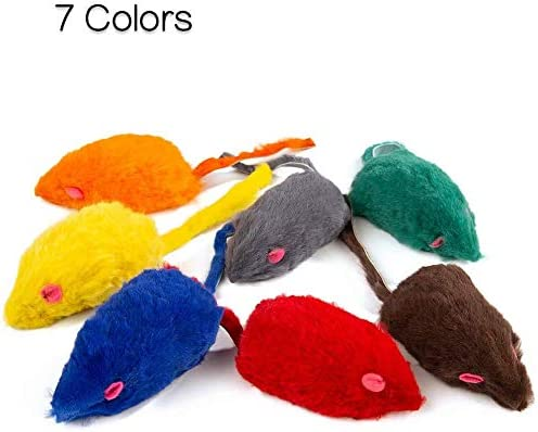 Yangbaga Ratones de Juguete para Gatos 7 pc Juguetes Gatos Ratón: Amazon.es: Productos para mascotas