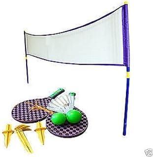 Neuf d'été d'extérieur de badminton/tennis géant de Super Sport Jardin Jeux de famille OTHER