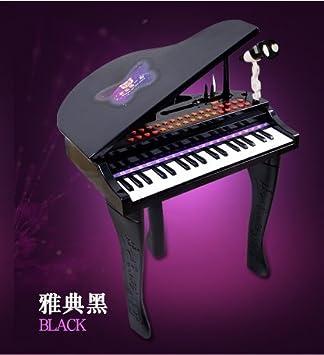 SYSINN - Piano portátil para teclado con soporte, piano con soporte, piano para teclado con soporte resistente, teclado electrónico de piano con soporte ...