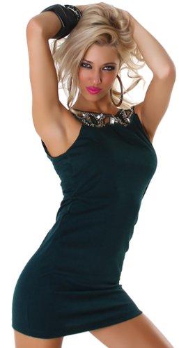 Graffith - Vestido - Lápiz - Cuello redondo - Sin mangas - para niña Verde
