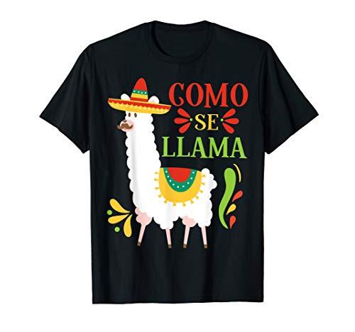 Como Se Llama Animal Funny Mexican Cinco De Mayo Shirt ()