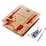 Arduino Kits, Case Enclosure Transparent Acrylic Box Clear Cover for Arduino UNO R3 Board R3