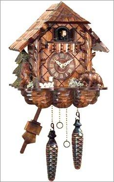 (Alexander Taron 404QM Engstler Battery-Operated Cuckoo Clock - Full Size - 9.75