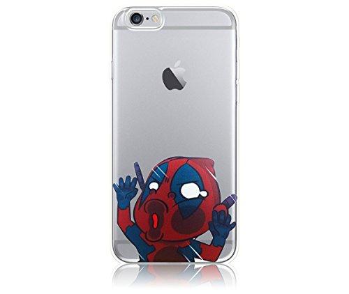 Deadpool iPhone 6 / 6s Case, PopJoy® - (4.7 Inch Case) Light, flexibile, shock-absorbant TPU case w/ premium designs (Bob Carrying Case)