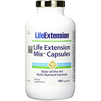 Life Extension Mix Capsules, 490 Count