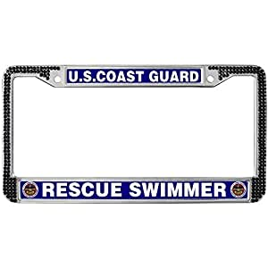 Amazon Com Uscg Rescue Swimmer Black Crystal License