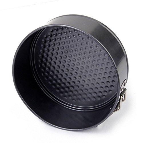 TQP-CK 18CM Spring Form Round Cake Tins Carbon Steel