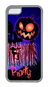 iPhone 5c Cases - Lovely Mobile Phone The Beauty Of The Halloween Images Rubber Bumper Protecting Shell