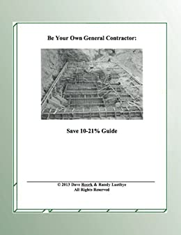 Be your own general contractor save 10 21 guide english for Be your own general contractor